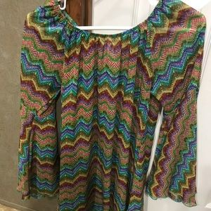 M Bell Sleeve Top